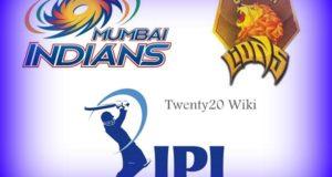IPL 2017: Mumbai Indians vs Gujarat Lions Preview match-16