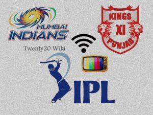 Mumbai Indians vs Kings XI Punjab live streaming