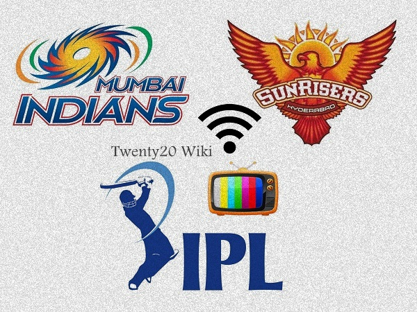Mumbai Indians vs Sunrisers Hyderabad Live Streaming