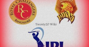 RCB vs GL match-31 Preview, Win Predictions IPL 2017