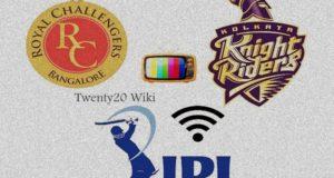 KKR vs RCB match-27 Live Streaming, Score 2017 IPL