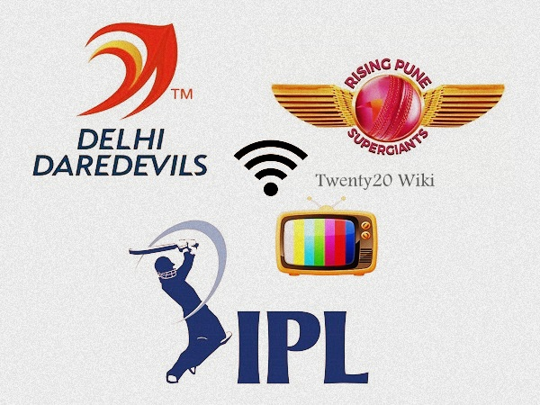 RPS vs DD 9th match IPL 2017 Live Streaming