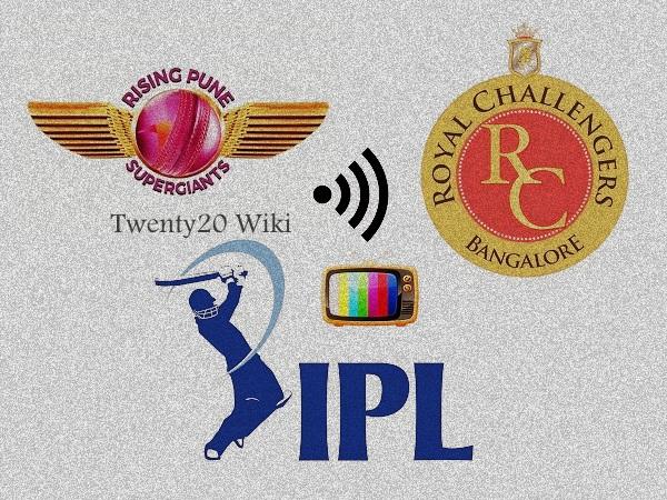 IPL 2017 match-17: RCB vs RPS Live Streaming