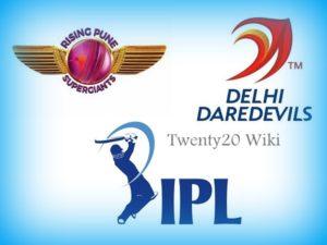 Rising Pune Supergiant vs Delhi Daredevils match prediction