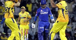 Gujarat, Pune out, Chennai & Rajasthan in for IPL 2018