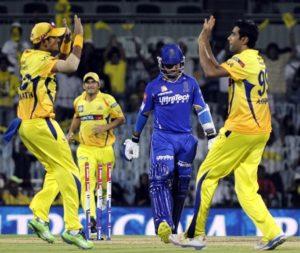 Chennai-Rajasthan to play IPL 2018
