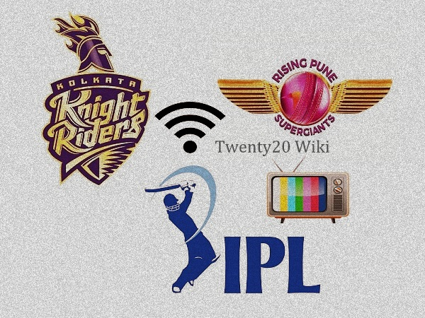 KKR vs RPS live streaming IPL