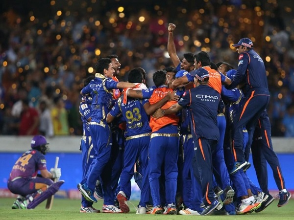 Mumbai Indians beat Rising Pune Supergiant to win IPL 2017