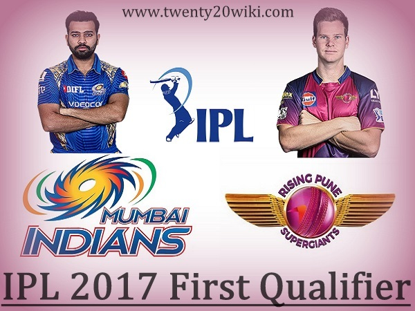MI vs RPS 1st Qualifier Live Score, Updates 2017 IPL Match-57