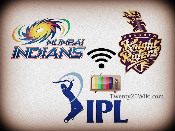 MI vs KKR 2nd Qualifier Live Streaming, Score 2017 IPL