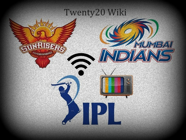 Sunrisers Hyderabad vs Mumbai Indians Live Streaming