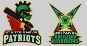 Guyana Amazon Warriors vs St Kitts Nevis Patriots Live Streaming