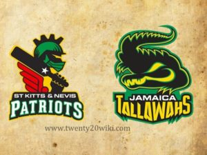 St Kitts and Nevis Patriots vs Jamaica Tallawahs