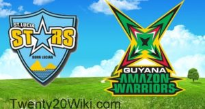 St. Lucia Stars vs Guyana Amazon Warriors Preview 12th Match 2017 CPL