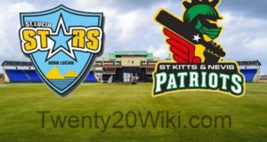 St. Lucia Stars vs St. Kitts and Nevis Patriots Live Streaming