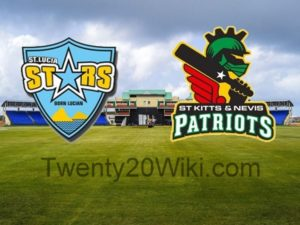 St. Lucia Stars vs St. Kitts and Nevis Patriots