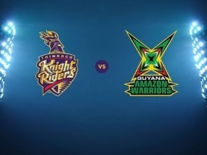 Trinbago Knight Riders vs Guyana Amazon Warriors