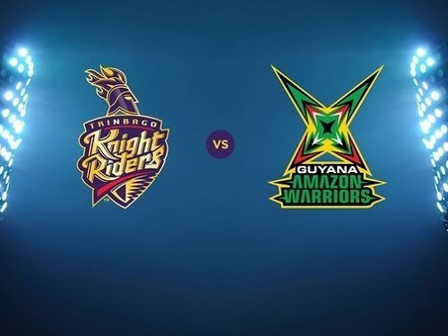 Trinbago Knight Riders vs Guyana Amazon Warriors Preview Match-9