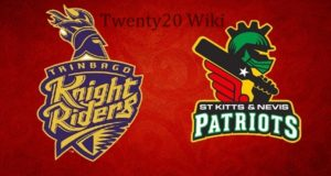 CPL 2018 Qualifier-2: TKR vs SKNP Scorecard