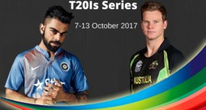 India vs Australia 2017 T20Is Schedule, Dates, Time Table