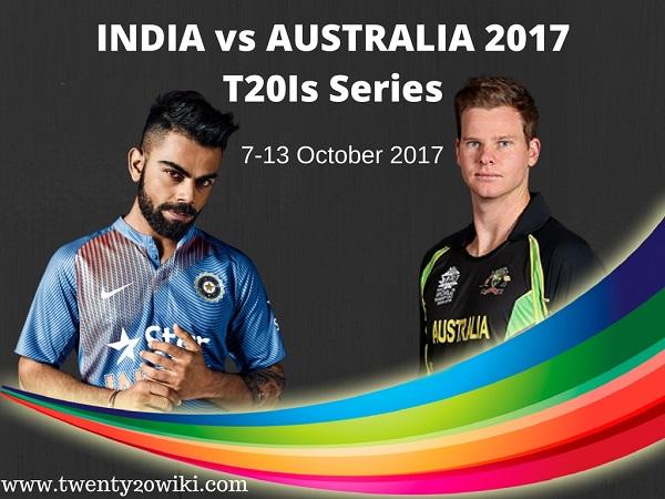 India vs Australia 2017 Series