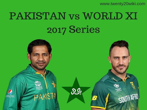 Pakistan vs World XI 2017 T20s