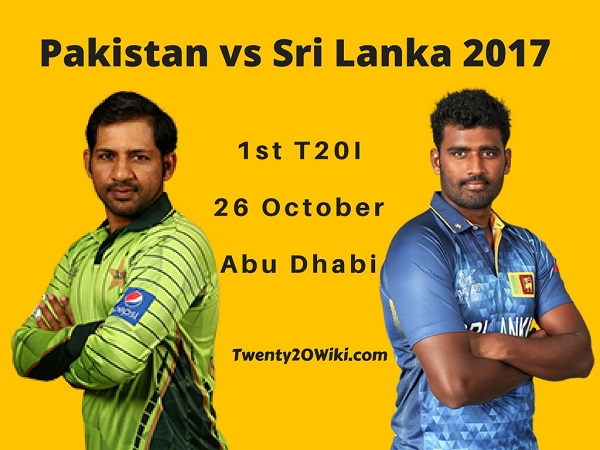 Pakistan vs Sri-Lanka 2017 1st T20 Preview