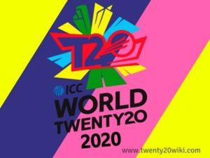 ICC World T20 2020 Schedule
