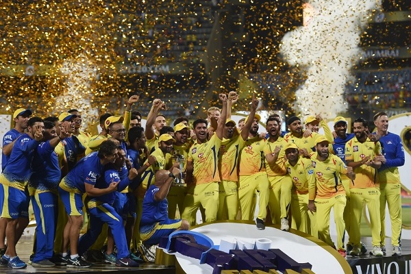 Chennai Super Kings won Vivo IPL 2018