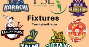 Full Schedule of Pakistan Super League 2020