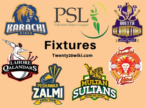 PSL 2019 Fixtures, Schedule, Matches, Time Table