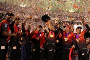 Trinbago Knight Riders won CPL T20 third time by defeating Guyana Amazon Warriors in CPL 2018 final