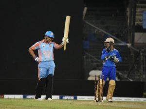 Hazrat Zazai scored fifty in 12-balls in APL T20 at Sharjah
