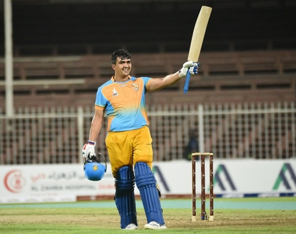 Hazrat Zazai scored first ton of Afghanistan Premier League