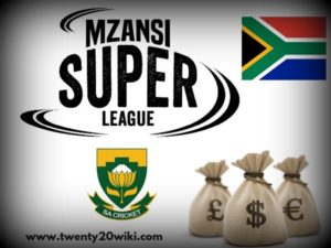 MSL T20 Prize money