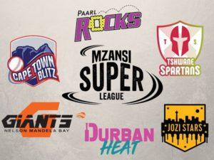 Mzansi Super League Teams photo by twenty20wiki
