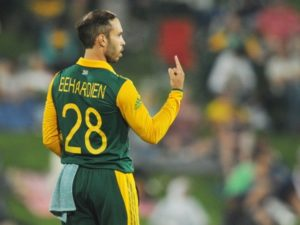 Farhaan Behardien South Africa cricketer
