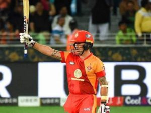 Luke Ronchi plays for Islamabad United in PSL
