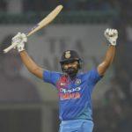 Rohit Sharma first batsman to hit four twenty20 international hundreds
