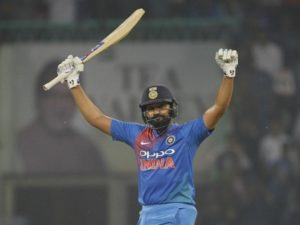 Rohit Sharma first batsman to hit four twenty20 international hundreds