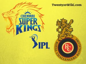 Chennai Super Kings vs Royal Challengers Bangalore IPL teams match