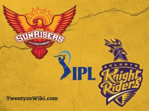 KKR vs SRH IPL match