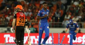 SRH vs MI: Alzarri Joseph becomes 2nd bowler to bowl wicket-maiden on debut