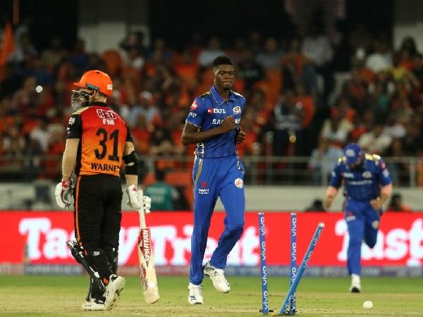 SRH vs MI: Alzarri Joseph becomes 2nd bowler to bowl wicket-maiden on debut