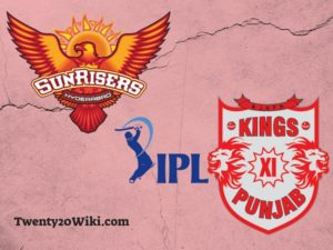 SRH vs KXIP IPL T20 cricket match