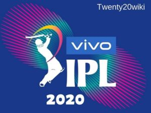 IPL 2020 photo by twenty20wiki