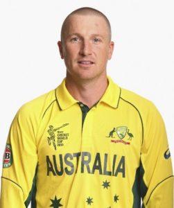 Brad Haddin from Australia