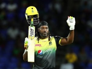 Chris Gayle scored hundred in CPL 2019 against St Kitts & Nevis Patriots