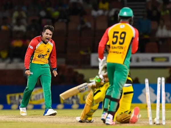 Rashid Khan took hat-trick in CPL