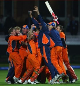 Netherlands beat England in 2009 T20 World Cup
